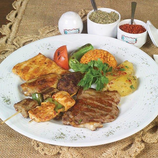 плита шеф-повара - турецкая пища